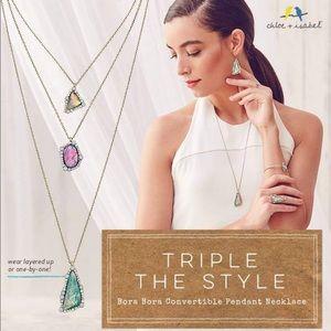 🆕 Bora Bora Convertible Pendant Necklace c+i N325